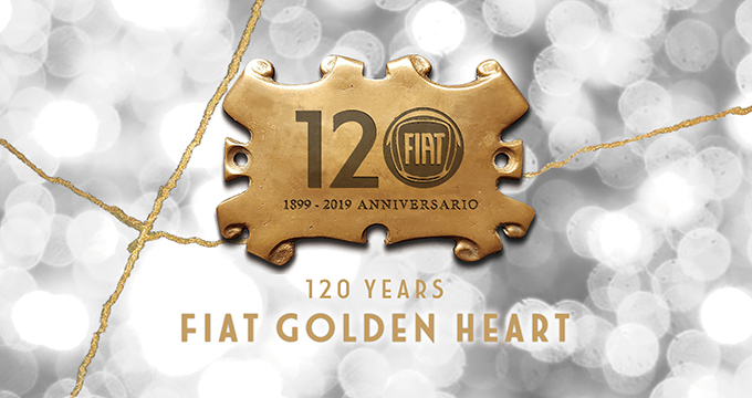 FIAT GOLDEN HEART